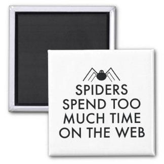 Tiempo en el Web Imán Cuadrado