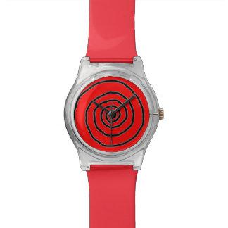 tiempo espiral hipnótico reloj