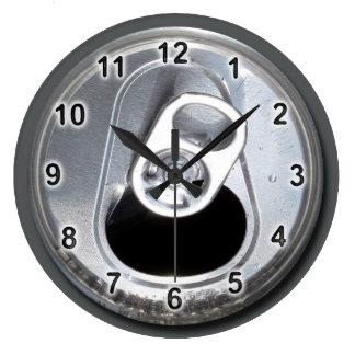 Tiempo fresco reloj redondo grande