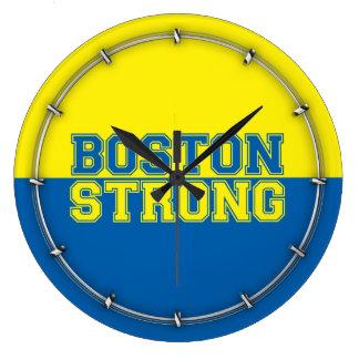Tiempo fuerte de Boston Reloj Redondo Grande