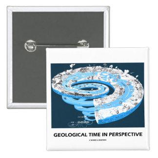 Tiempo geológico en la perspectiva edad geológica pin