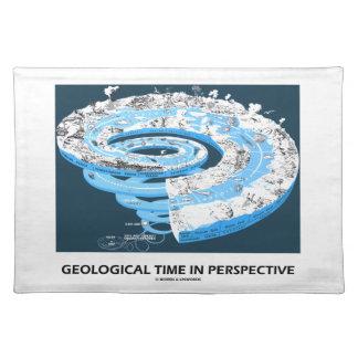 Tiempo geológico en la perspectiva la historia de manteles individuales