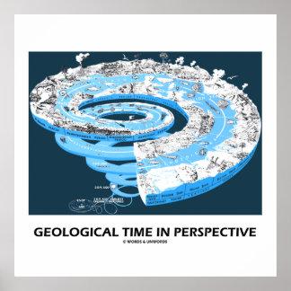 Tiempo geológico en la perspectiva la historia de posters