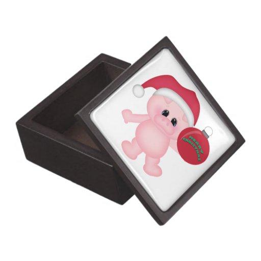 Tiempo guarro del navidad caja de recuerdo de calidad