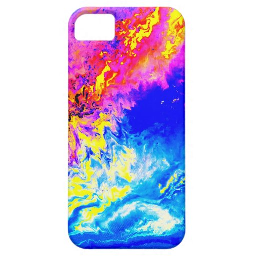 Tiempo hermoso iPhone 5 Case-Mate cobertura