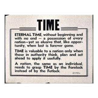 Tiempo Anuncio Personalizado