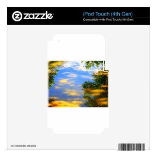 Tiempo justo calcomanías para iPod touch 4G