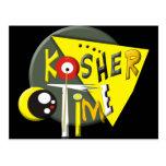 Tiempo kosher postales