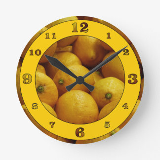 Tiempo Lemony Reloj Redondo Mediano