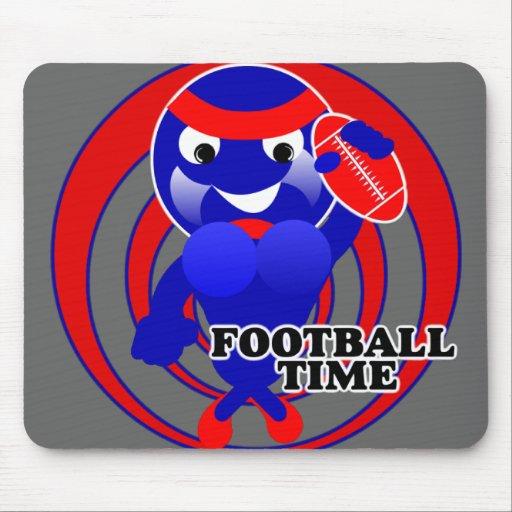 Tiempo Mousepad del fútbol Tapete De Ratones