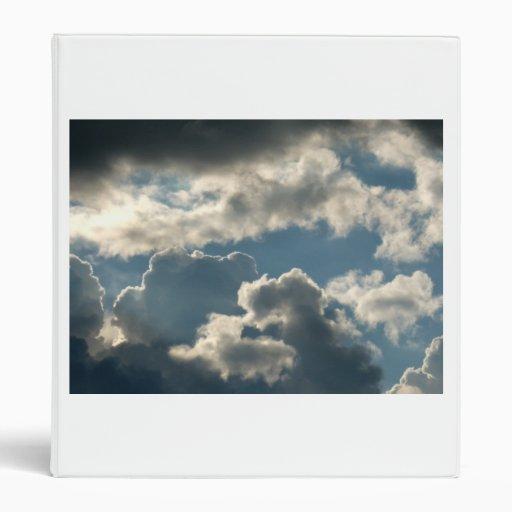 tiempo nublado azul de la Florida de la tormenta d