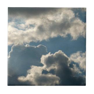 tiempo nublado azul de la Florida de la tormenta d Tejas