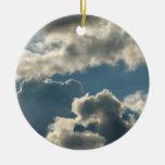 tiempo nublado azul de la Florida de la tormenta d Adorno De Reyes