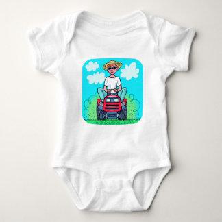 Tiempo para segar body para bebé