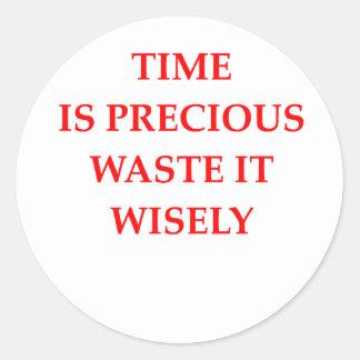 tiempo pegatina
