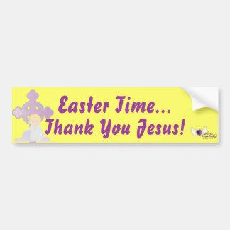 Tiempo-Personalizar de Pascua Pegatina Para Auto