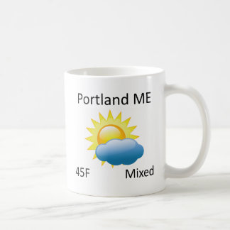 tiempo Portland YO Taza Clásica