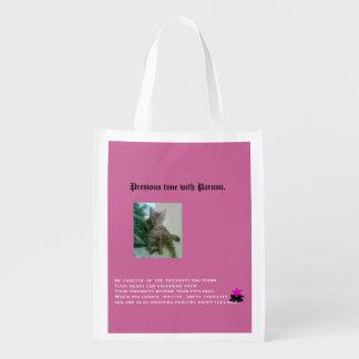 Tiempo precioso con el Parumi-mini bolso Bolsas Reutilizables
