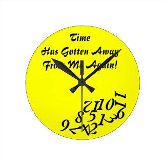 Tiempo que consigue lejos el reloj