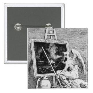 Tiempo que fuma una imagen, 1761 pin cuadrado
