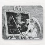 Tiempo que fuma una imagen, 1761 tapetes de ratón