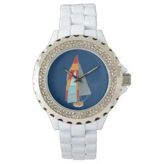 tiempo que navega relojes de mano