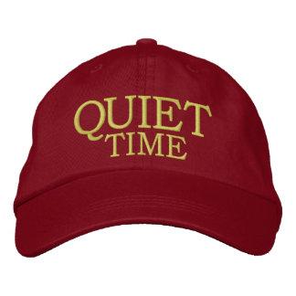 Tiempo reservado - casquillo gorra de beisbol