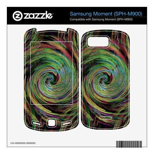 Tiempo Samsung Moment Skin