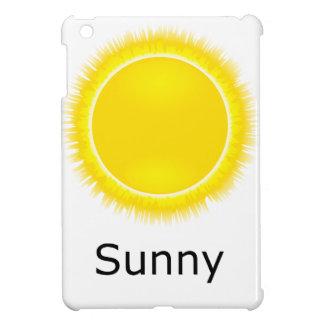 Tiempo soleado iPad mini protectores