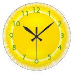 Tiempo soleado relojes