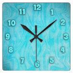 Tiempo subacuático reloj de pared