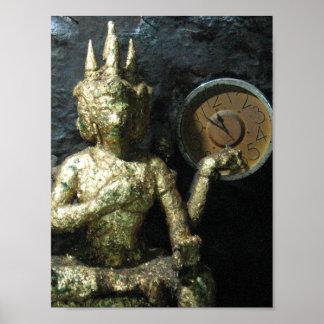 Tiempo… Tailandia de Buda Impresiones