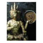 Tiempo… Tailandia de Buda Tarjeta Postal