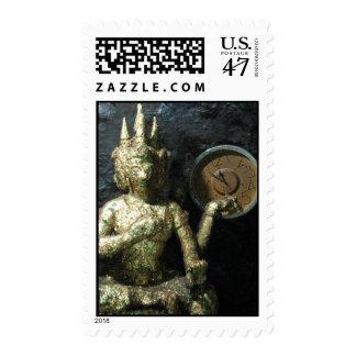 Tiempo… Tailandia de Buda Timbres Postales