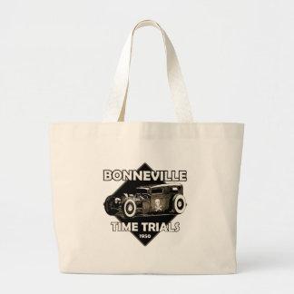 Tiempo trials-1950-Vintage png de Bonneville Bolsas De Mano