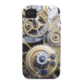 tiempo y engranajes - caso del steampunk de iPhone 4/4S fundas