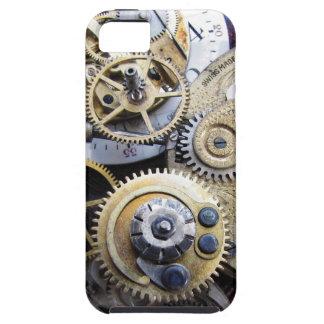 tiempo y engranajes - caso del steampunk de iPhone 5 fundas