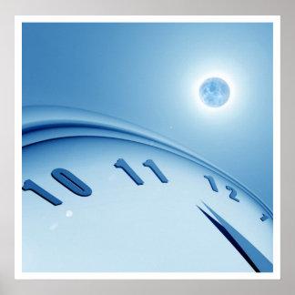 Tiempo y espacio poster