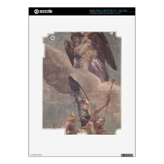 Tiempo y fama, de la sacristía (fresco) pegatina skin para iPad 3
