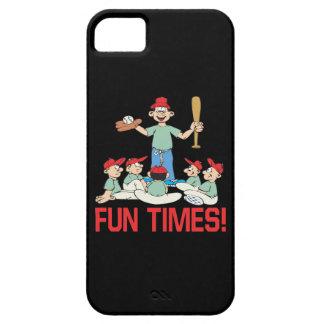 Tiempos de la diversión iPhone 5 carcasas