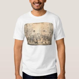 Tiempos de Quakey de la tierra (0785A) Camisas