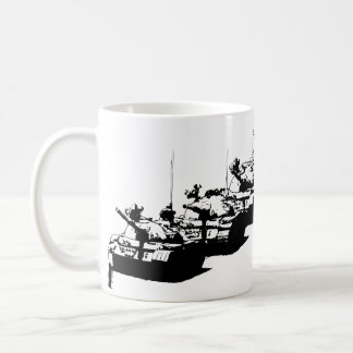 Tienanmen Tank Man Classic White Coffee Mug