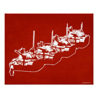 Tienanmen Tank Man Print