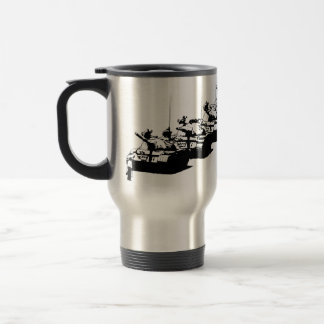 Tienanmen Tank Man Travel Mug