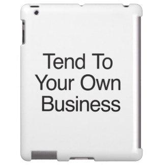 Tienda a su propio negocio funda para iPad