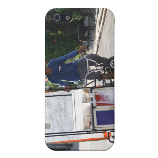 Tienda ambulante de la panadería iPhone 5 funda