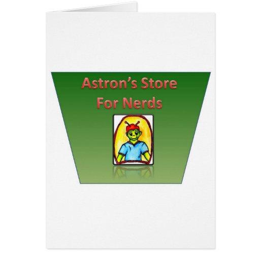 Tienda de Astrons para los empollones Tarjetas
