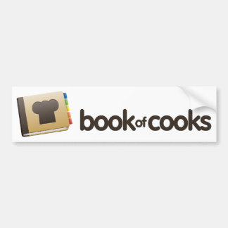 Tienda de BookofCooks Pegatina De Parachoque