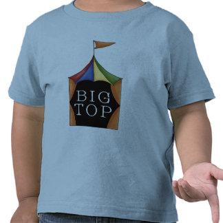 Tienda de circo del top grande camisetas