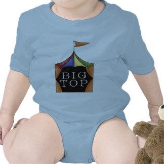 Tienda de circo del top grande traje de bebé